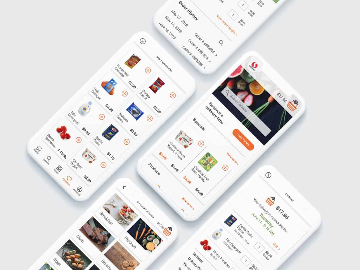 Basket Fresh Mobile Mockup