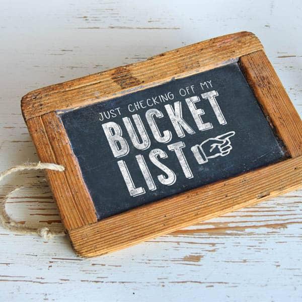 Bucket List Mockup