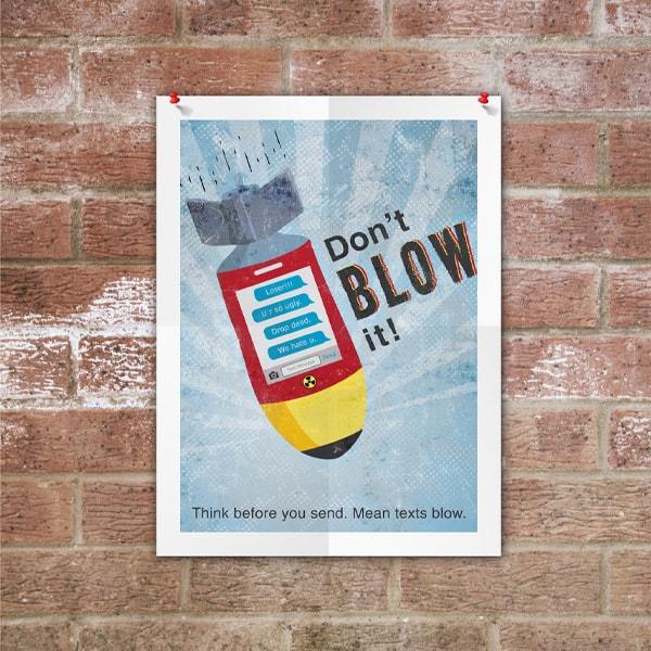 Don't blow it Rocket