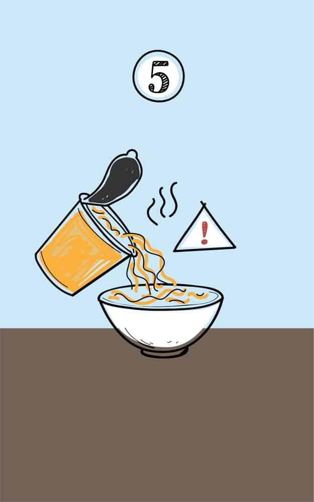 Instant Noodles Ingredients Screen