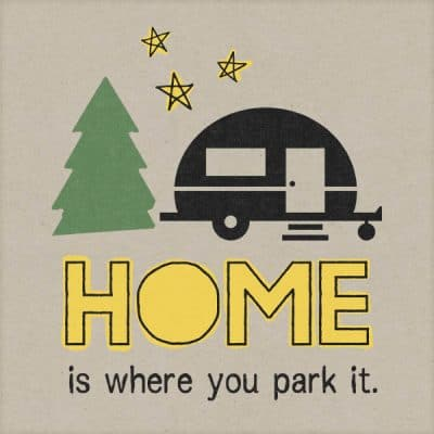 Home is where you park it recolored