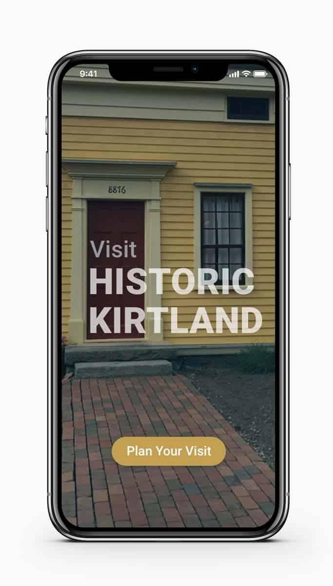 Historic Kirtland Launch Screen