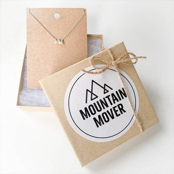 Sticker Mountain Mover Mockup