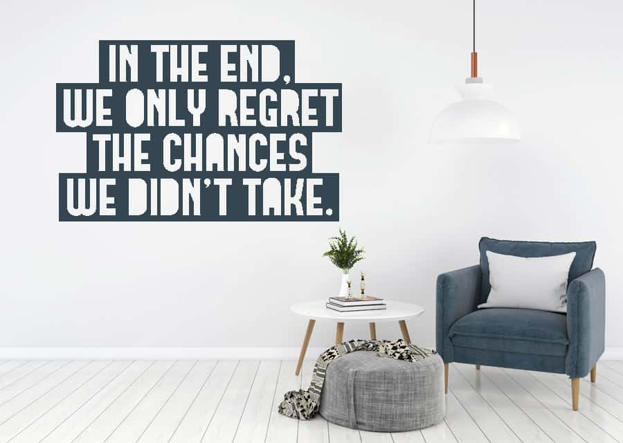 In the end quote