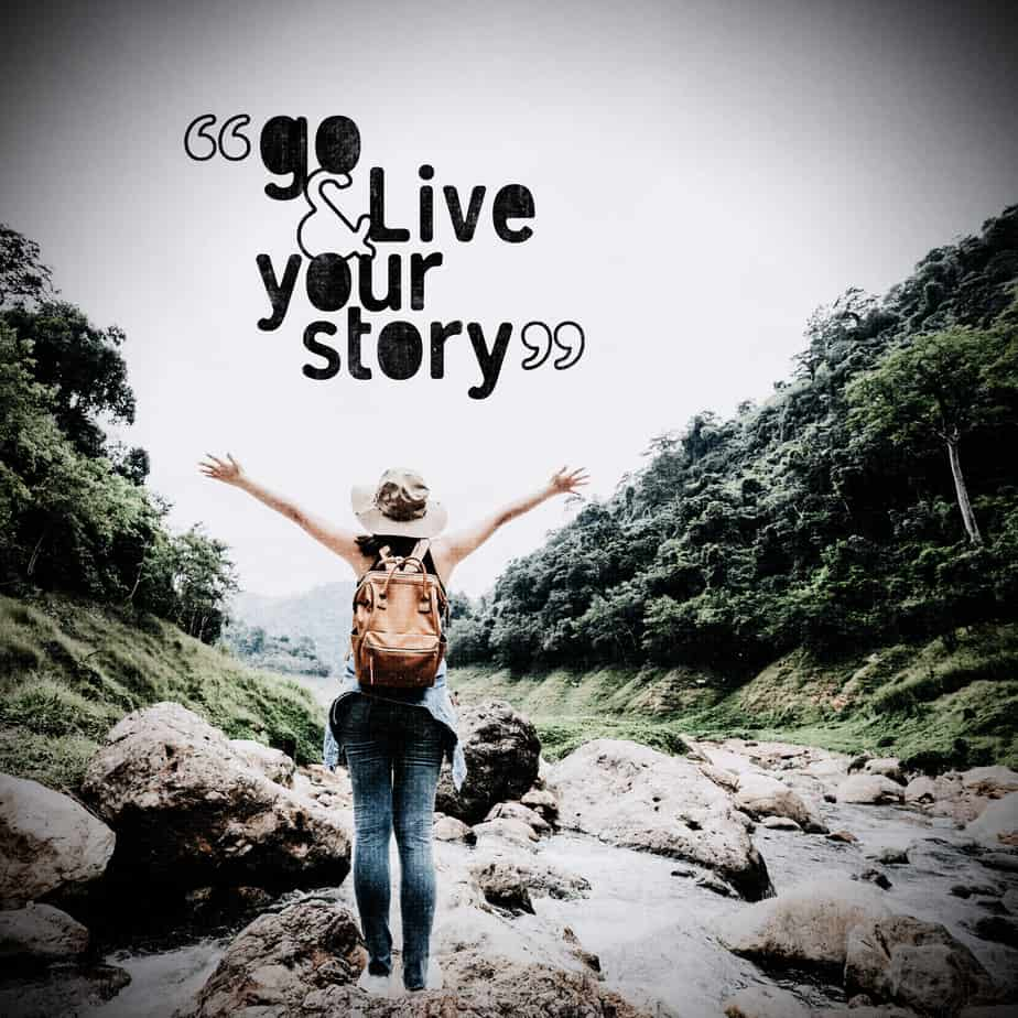 Go Live Your story background