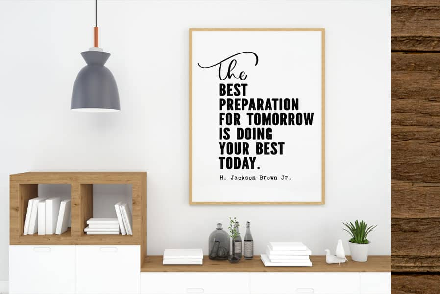 The best preparation quote