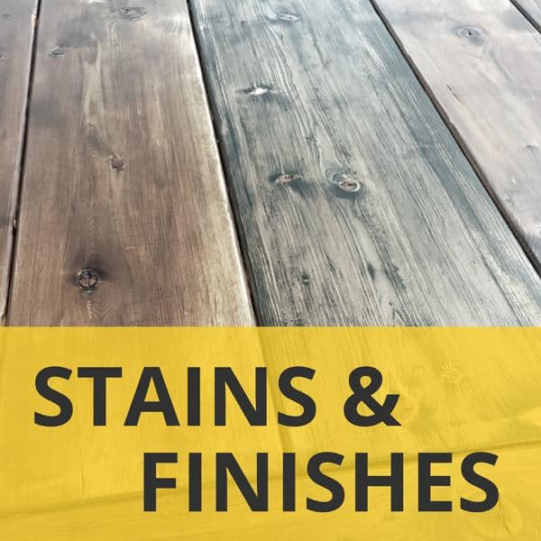 Stains and Finishes