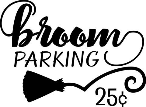 Broom parking